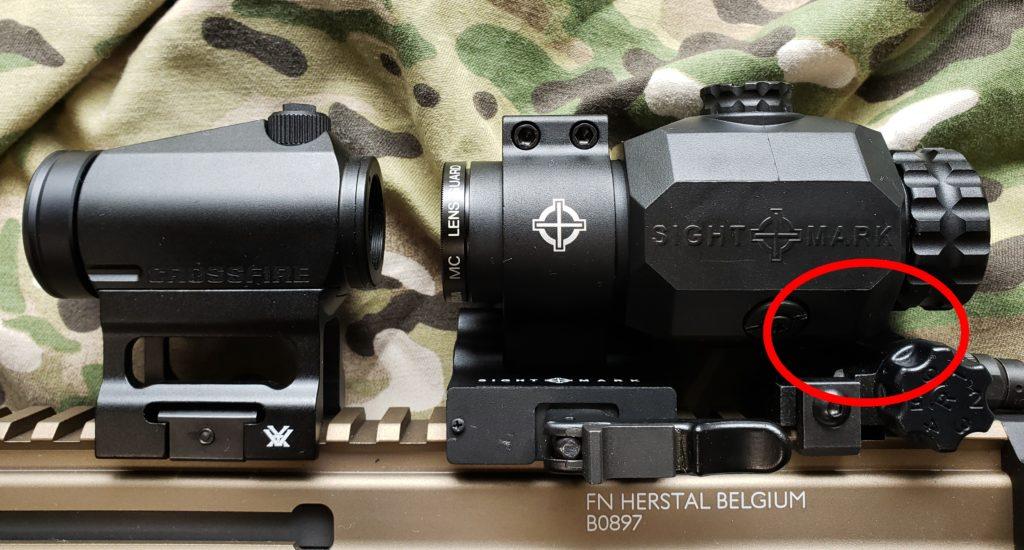 Sightmark マグニファイア TX-3