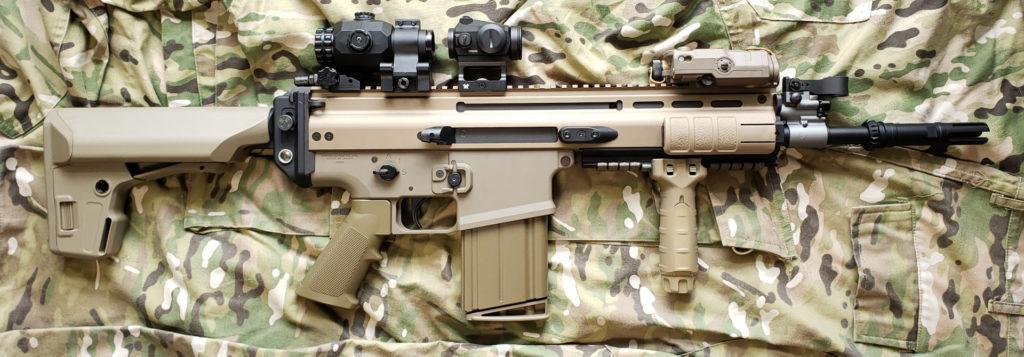 東京マルイ SCAR-HとSightmark マグニファイア TX-3